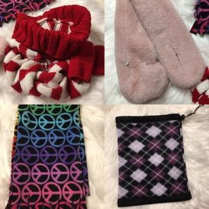 🎉4 Pcs Winter Scarf for Girls🎉